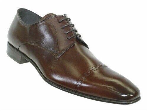 Nuevo En Caja Mezlan Para Hombre Zapato De Vestir 15448 en Marrón Tamaño