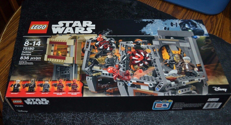 2017 LEGO STAR WARS RATHTAR ESCAPE 836 PCS.   75180 FACTORY SEALED