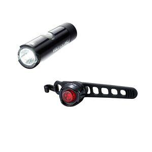 Cateye Volt 100XC/Sfera LED ciclo bicicletta anteriore e posteriore luce Set