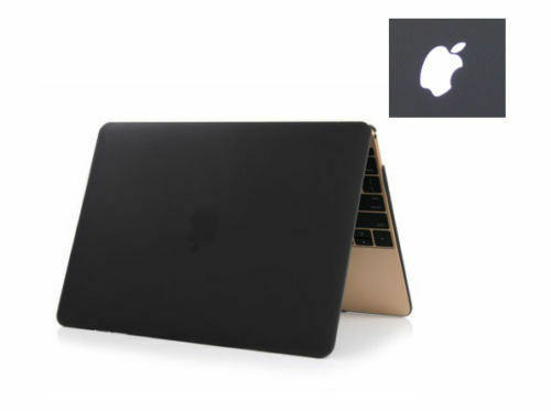 For Macbook Pro 13 15 with Touch Bar A1989 A1990 2018 2019 Black//Clear Hard Case