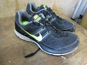 7e8ae24f31a7 Mens Nike Pegasus+ 29 Black Volt Black Running Shoes 524950-070 Size ...