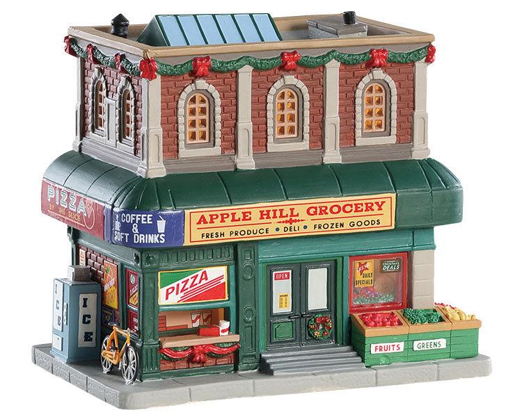LEMAX Apple Hill Grocery   Weihnachtsdorf Winterdorf Modellbau Porzellanhaus