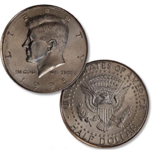 BU ROLL OF 1995-P HALF DOLLARS