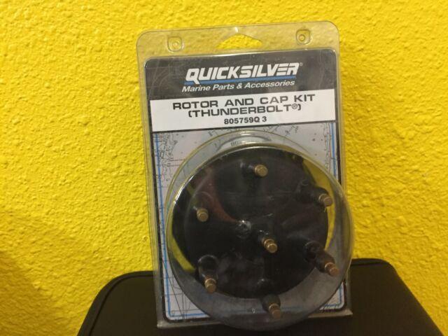MERCURY//QUICKSILVER Rotor and Cap Kit Thunderbolt 805759Q 3