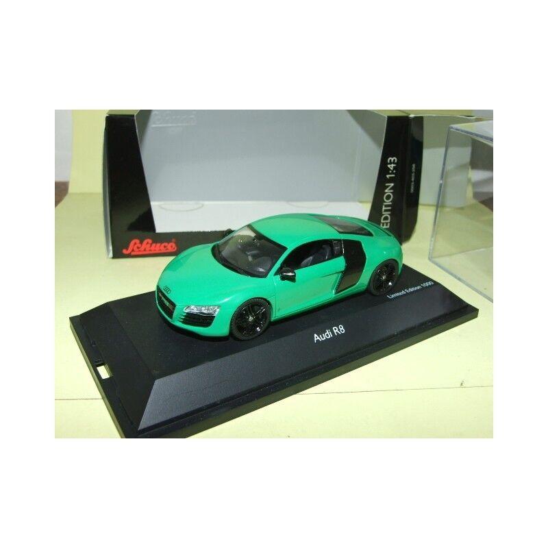 Audi r8 4.2 v8 fsi quattro green schuco 1 43
