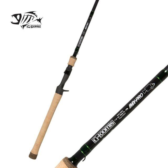 "G Loomis GLX Mag Bass Casting Rod 782C MBR GLX 6/'6/"" Medium 1pc"
