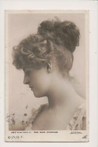 Vintage-Postcard-Marie-Studholme-English-Stage-Theatre-actress-and-singer