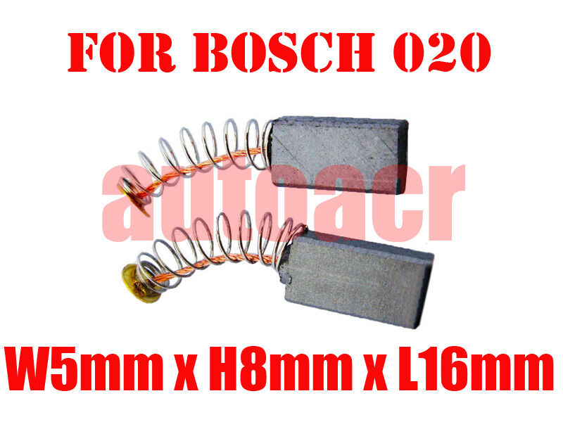 Carbon Brushes For Bosch Drill Planer 5X8X16mm 2604321913 1617014114 Router AU