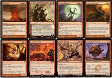 MTG Mono-Red Dragon Deck - Sarkhan Moonveil Crucible Flameblast Magic Gathering