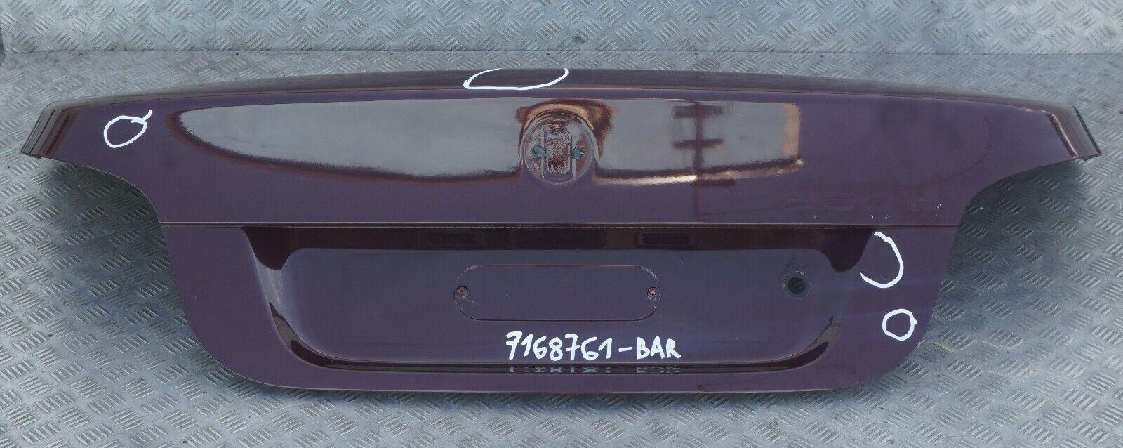 Frogum Couvre-Coffre en Caoutchouc Compatible avec BMW S/érie 5 E61 Touring 2002-2010