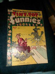Tiny-Tot-Funnies-9-harvey-comics-1951-golden-age-blondie-flash-gordon-popeye