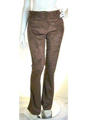 Pantaloni Donna VIOLET ATOS LOMBARDINI Made in Italy I114 Marrone Tg 44 46