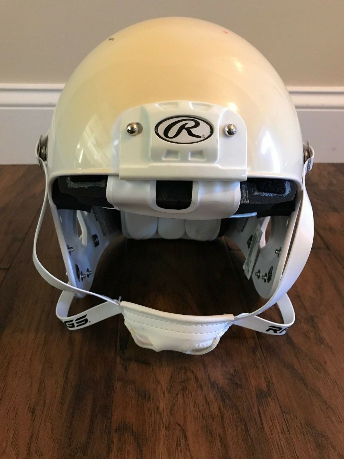 Rawlings NRG Momentum Youth Football Helmet bianca XX-Small NWD