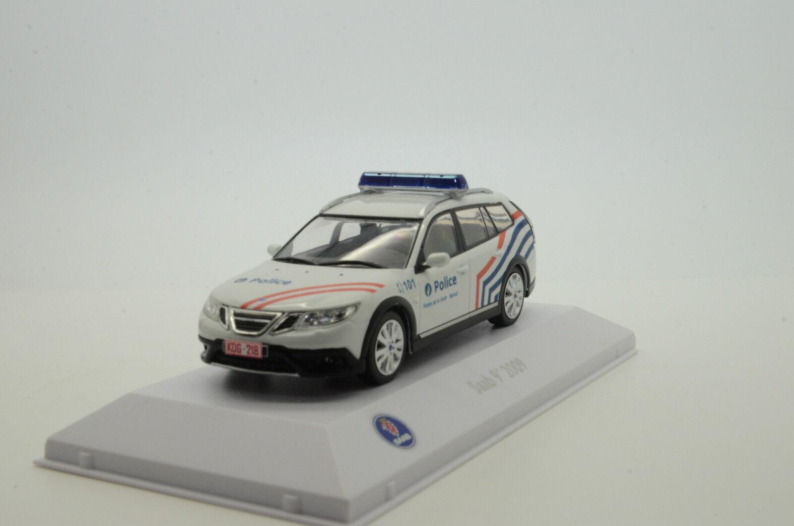 Raro Saab 9-3X 2009 belqium policía Personalizado 1 43