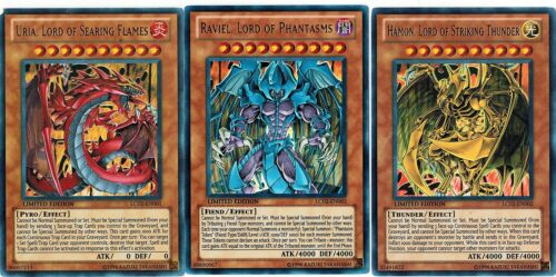 Hamon Raviel Lc02 Egyptien Dieu Cartes Ailé Dragon Of Ra Uria Seigneur