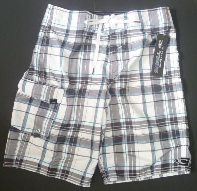 Mens O'NEILL ONEILL Swim Board Shorts Trunks size 30 NWT #0045