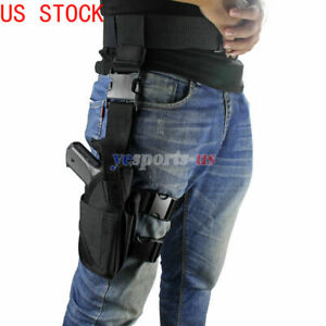 Universal-Drop-Leg-Holster-Right-Hand-Tactical-Thigh-Handgun-Holster-Adjustable