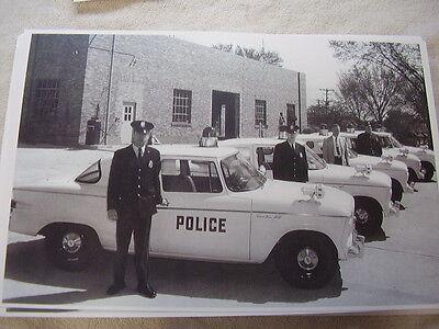 1960 STUDEBAKER LARK POLICE CAR FLEET 11 X 17 PHOTO ...