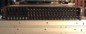 Compellent-SC220-24-bay-SFF-7x-1TB-SAS-7-2K-Bezel-Rails-2x-EMM-2x-700W-PSU-24x