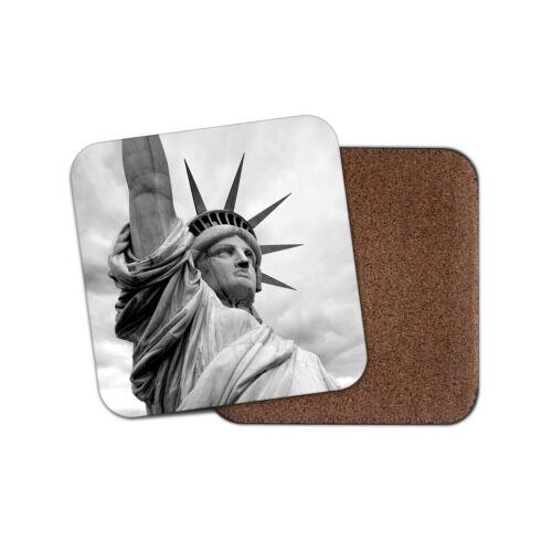 Statue de la liberté Coaster-New York Amérique USA Voyage Cool Fun Cadeau #12197