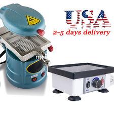 Dental Lab 1000W Vacuum Forming Molding Machine +120W Vibrator Model Oscillator