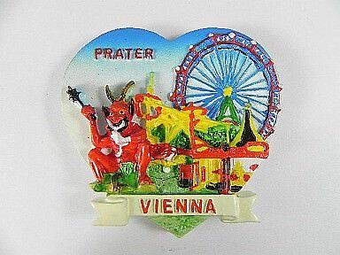 Wien Prater Riesenrad Österreich,Austria,Souvenir Magnet Poly 3D,7 cm,neu