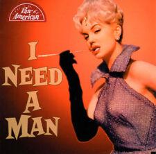 Vintage Rockabilly Comp- I NEED A MAN -Pan America CD