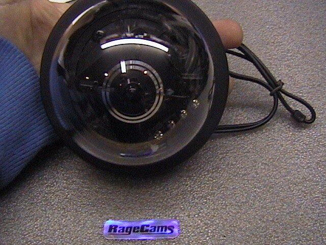 """Casino Color Dome Camera Security Cam 5""""Wide Angle Lens"""