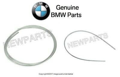 For BMW E21 77-83 320i Set of 2 Rear /& Front Windshield Mouldings Joint Genuine