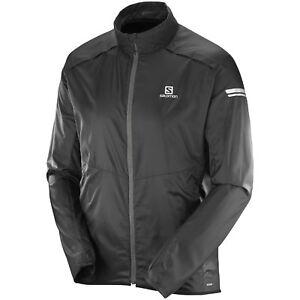 Details zu Salomon Agile Wind Jacket Herren Windjacke Outdoor Jacke Laufjacke Regenjacke