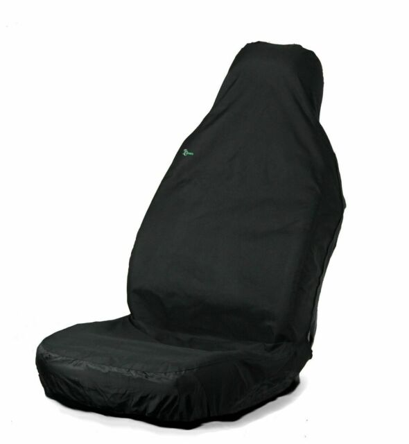 Black Town & Country 3D Universal Protective Front Seat Cover Free P&P