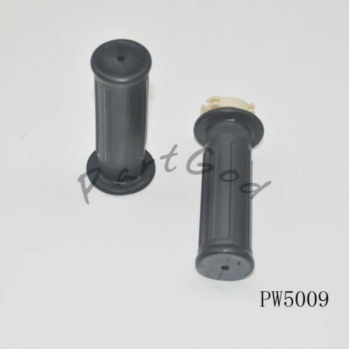 ONE PAIR HANDLE GRIP SET FOR YAMAHA PW50 PW 50 CRF50 BLACK NEW