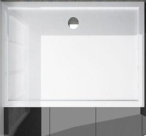70x90 duschtasse duschwanne flach wanne cm f r duschabtrennung duschkabine 70x90 ebay. Black Bedroom Furniture Sets. Home Design Ideas