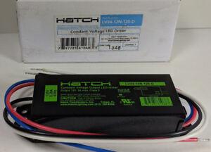 Hatch Led Drivers >> Hatch Lv24 12n 120 D Constant Voltage Led Driver 12v 2a Class 2 L