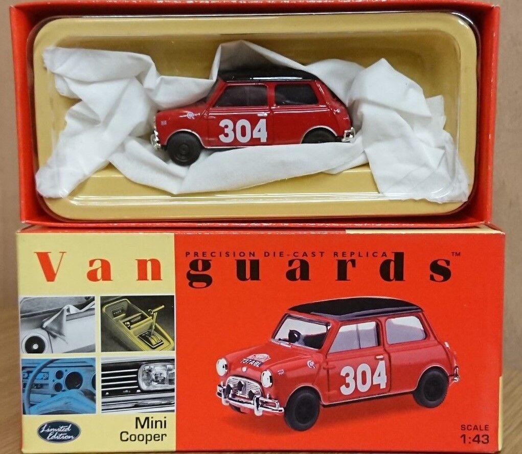 Corgi VA25007 Pat Moss's Mini Cooper Rally Car Ltd Edition No. 0005 of 5000