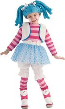 NEW Lalaloopsy Deluxe Toddler Costume Mittens Fluff n Stuff & wig Doll Dress Up