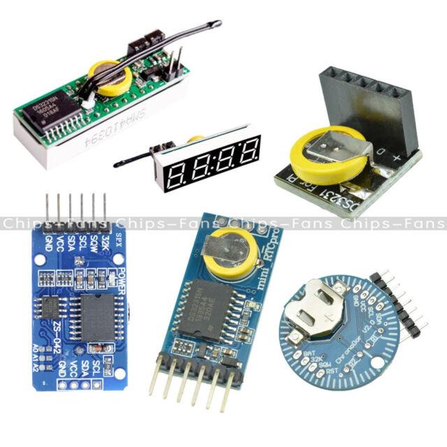 DS3231/DS3231SN RTC I2C Real Time Clock 3 3V/5V Module for Arduino  Raspberry Pi