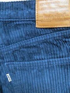 Levi's Marlene Cord Jeans Hose W 30 /L 32 RIBCAGE Breitcord Wide Leg Schlaghose!