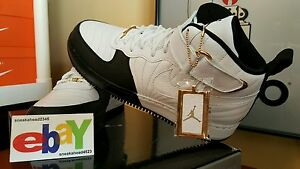 detailed look 7641d 274bf Details about Jordan AJF 12 Retro 2008 WHITE/BLACK-TAXI 317742 101 2018