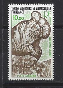 Initiative French Southern & Antarctic Terr-c54-comme Neuf Légèrement à Charnière - 1979-elephant Seals-afficher Le Titre D'origine