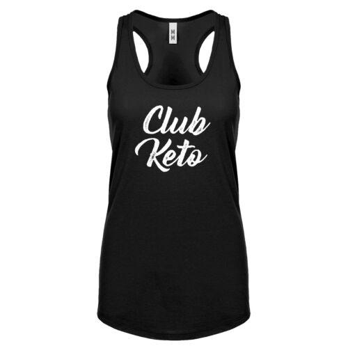 Womens Club Keto Racerback Tank Top #3271