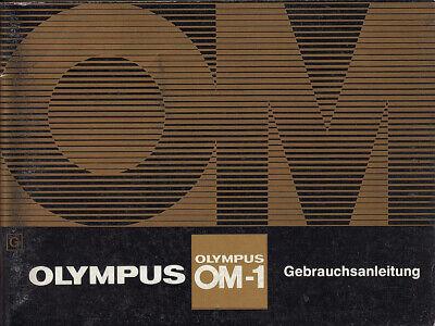 Cooperativa Olympus Manual De Instrucciones Para Olympus Om-1 - Instrucciones-itung Für Olympus Om-1 - Anleitung Es-es