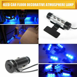LED-Interior-Car-Styling-Foot-Floor-Blue-Decorative-Atmosphere-Inside-Neon-Light