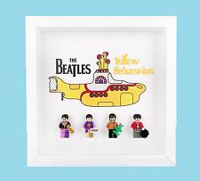 LEGO The Beatles Yellow Submarine 21306 Minifigure Display Frame White / Black