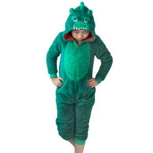 Unisex-Crocodile-Pajamas-Kids-Adult-Animal-Cosplay-Sleepwear-Costumes-Jumpsuit