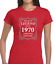 PREMIUM LEGEND SINCE 1970 FUNNY T SHIRT LADIES 50TH BIRTHDAY GIFT IDEA PRESENT