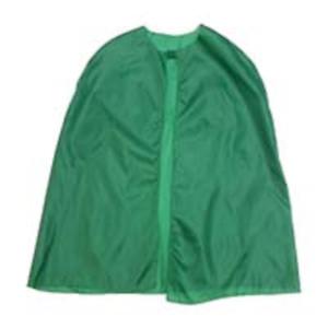 "Piccolo 26/"" Nylon Cape Verde Super Eroe Magic Fancy Dress Party leggero"
