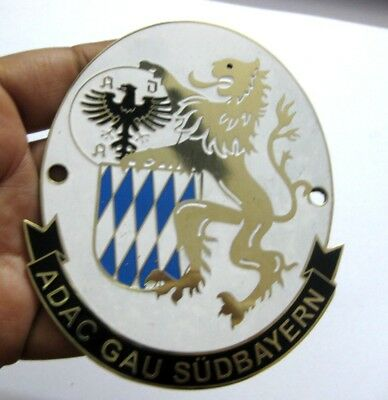 Car Badges Adac Car Grill Badge Emblem Logos Metal Enamled Car Grill Badge Emblem Demand Exceeding Supply Automobilia