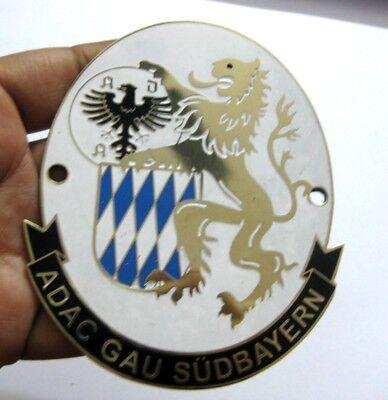 Adac Car Grill Badge Emblem Logos Metal Enamled Car Grill Badge Emblem Demand Exceeding Supply Automobilia Badges & Mascots