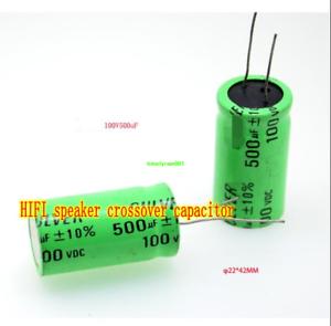 100V 500uF HIFI audio capacitor speaker crossover capacitor Promise capacitance
